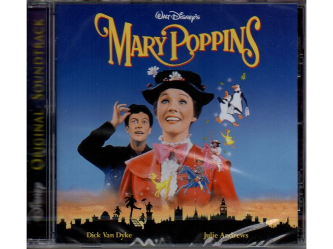 mary poppins soundtrack cd