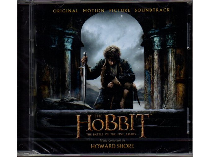 the hobbit the battle of the five armies soundtrack cd howard shore