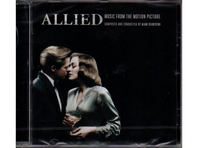 allied soundtrack cd alan silvestri