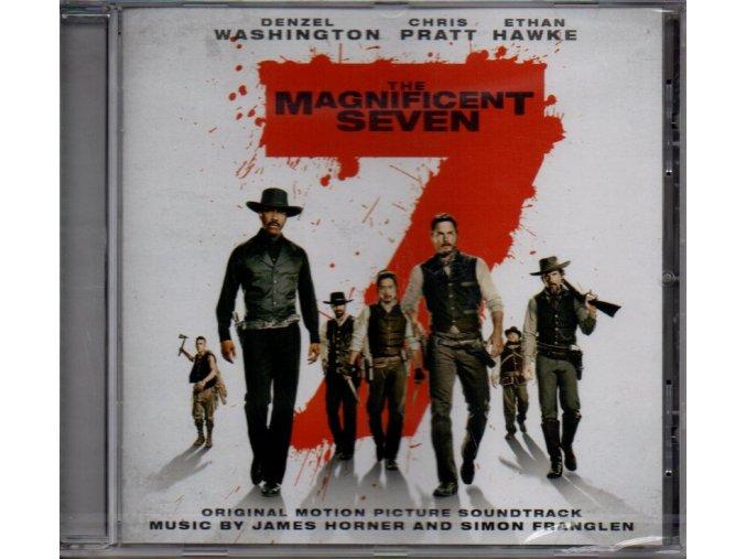 magnificent seven soundtrack cd james horner