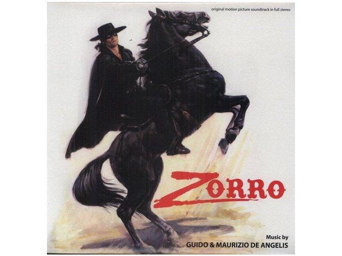 zorro soundtrack lp vinyl guido and maurizio de angelis