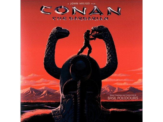 conan the barbarian soundtrack lp vinyl basil poledouris