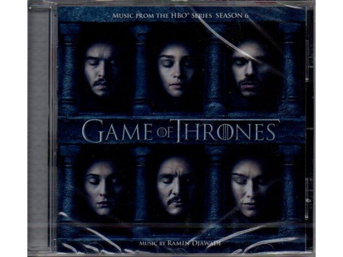 game of thrones soundtrack season 6 cd ramin djawadi