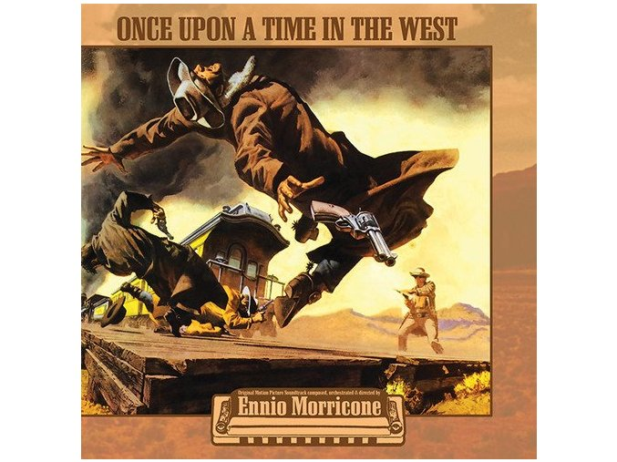 once upon a time in the west soundtrack lp vinyl ennio morricone