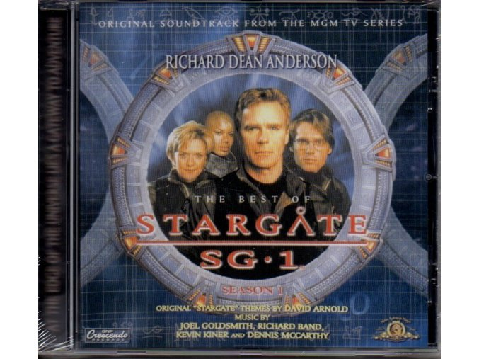 stargate sg 1 soundtrack cd