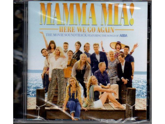 mamma mia here we go again soundtrack cd abba