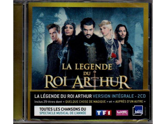 la légende du roi arthur muzikál 2 cd