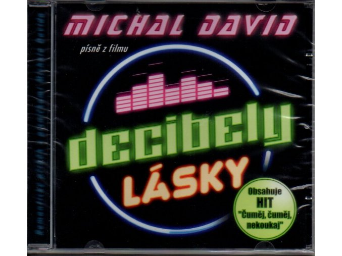 michal david decibely lásky soundtrack cd