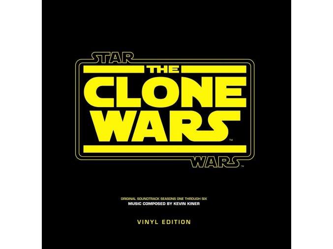 star wars the clone wars soundtrack lp vinyl kevin kiner