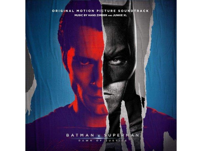 batman v superman dawn of justice soundtrack 3 lp vinyl hans zimmer junkie xl
