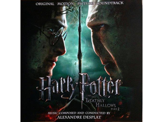 harry potter and the deathly hallows part 2 soundtrack 2 lp vinyl alexandre desplat