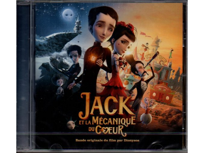 jack et la mécanique du coeur soundtrack cd