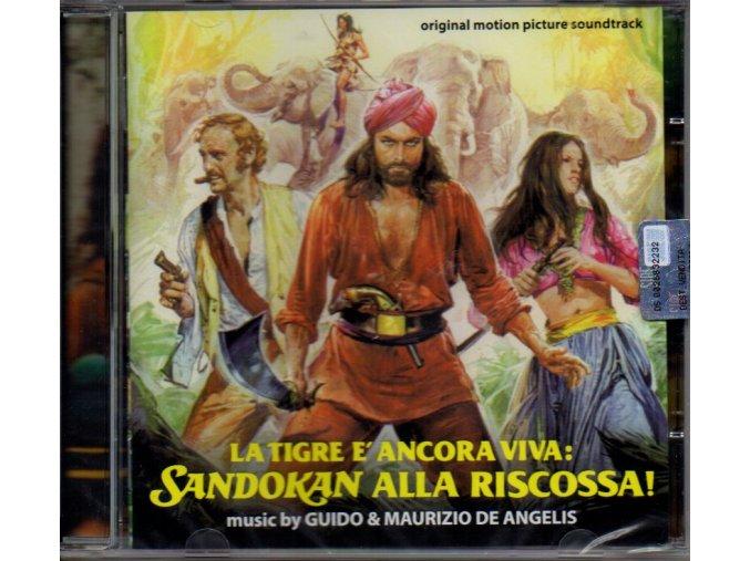 la tigre e ancora viva sandokan alla riscossa soundtrack cd guido & maurizio de angelis