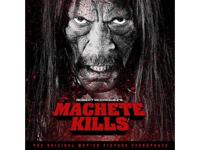 machete kills soundtrack lp vinyl robert rodriguez