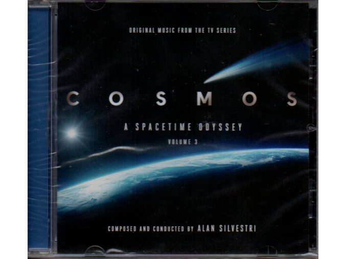 cosmos a spacetime odyssey volume 3 soundtrack cd alan silvestri