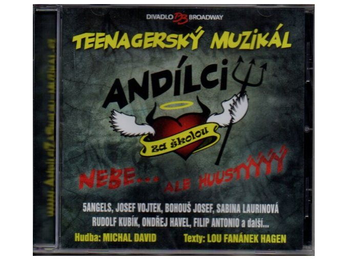 andílci za školou muzikál cd