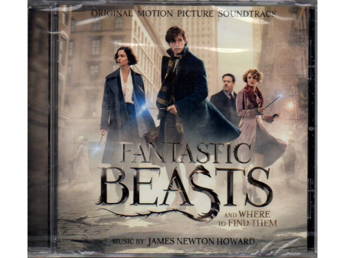 fantastic beasts and where to find them soundtrack cd james newton howard