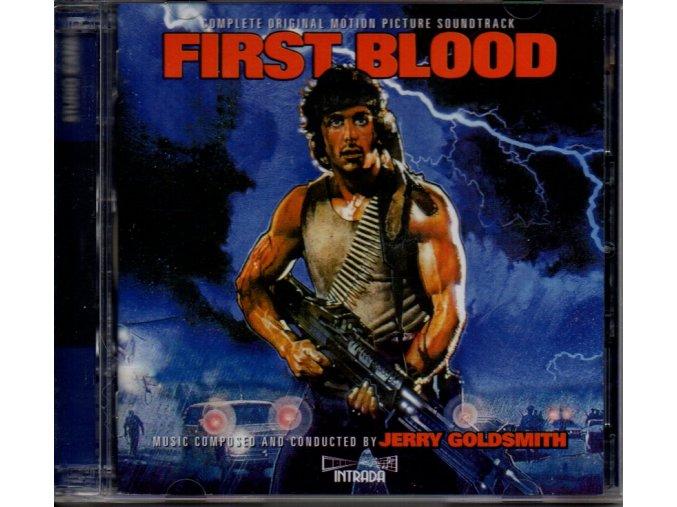 first blood soundtrack 2 cd jerry goldsmith