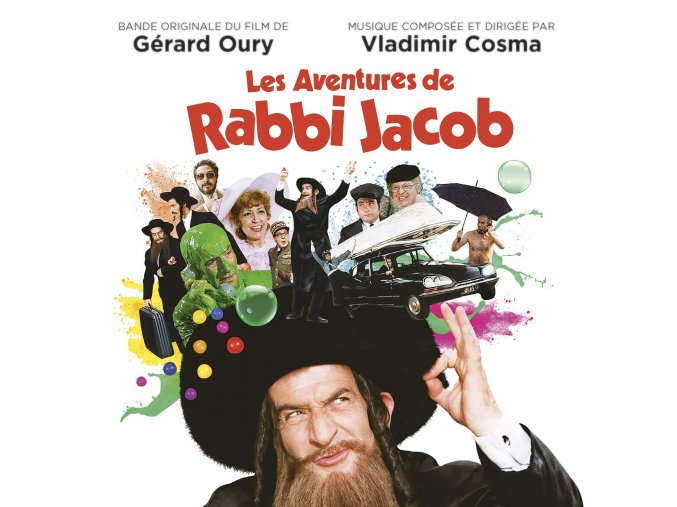 les aventures de rabbi jacob soundtrack lp vinyl vladimir cosma