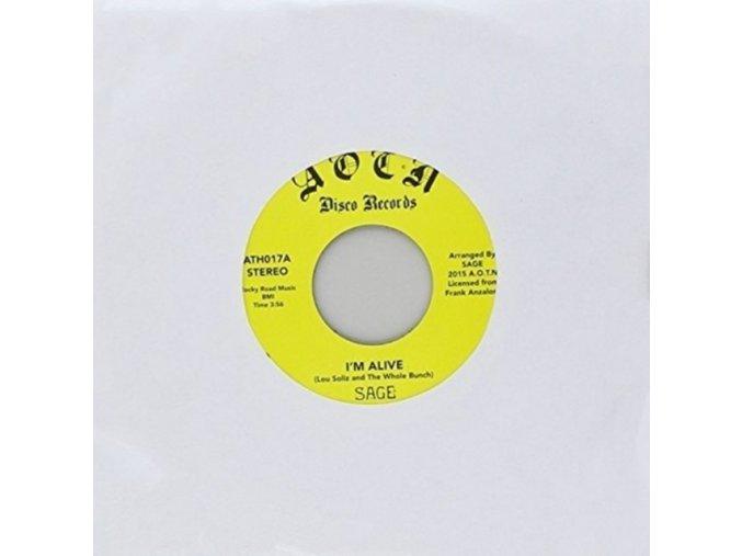 """SAGE - IM Alive (7"""" Vinyl)"""