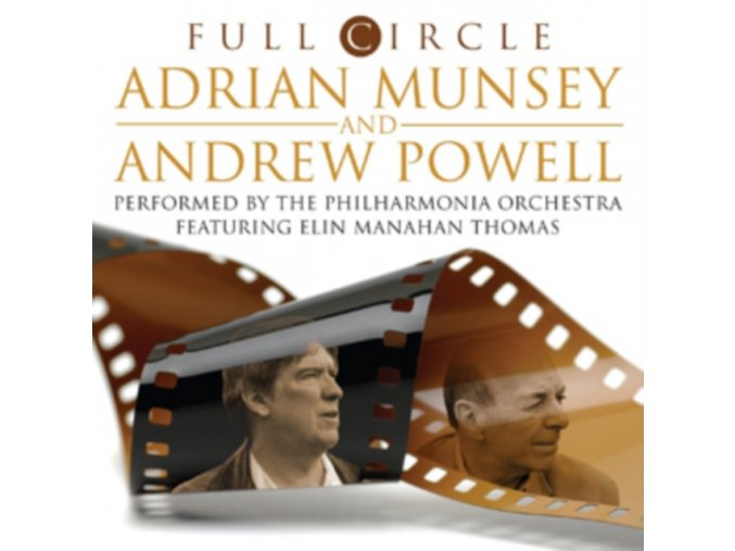 ADRIAN MUNSEY / ANDREW POWELL & THE PHILHARMONIA ORCHESTRA - A. Munsey & A. Powell: Full Circle (LP)