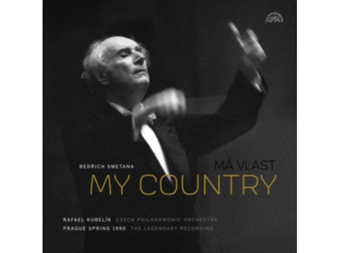 CZECH PHILHARMONIC ORCHESTRA / RAFAEL KUBELIK - Smetana: My Country / Ma Vlast The 1990 Legendary Recording (LP)