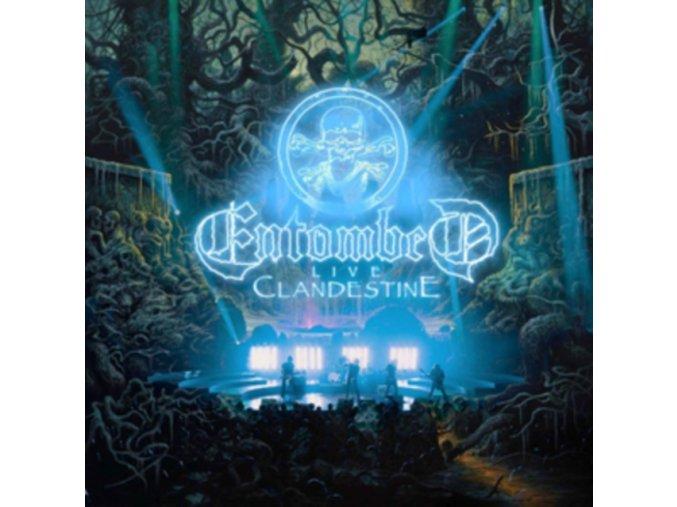 ENTOMBED - Clandestine Live (LP)