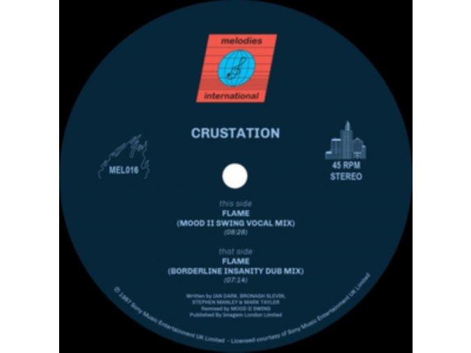 """CRUSTATION - Flame (Mood Ii Swing Remixes) (12"""" Vinyl)"""