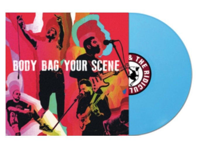RISKEE & THE RIDICULE - Body Bag Your Scene (LP)