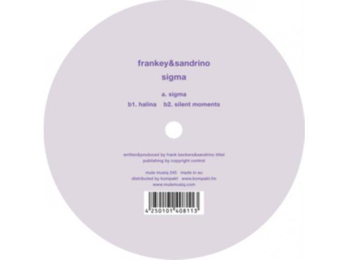 """FRANKEY & SANDRINO - Sigma (12"""" Vinyl)"""