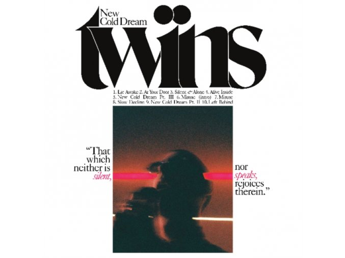 TWINS - New Cold Dream (Pink & White Vinyl) (LP)