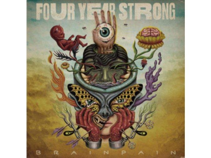 FOUR YEAR STRONG - Brain Pain (LP)