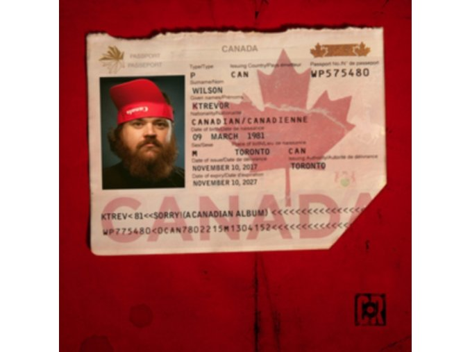 K TREVOR WILSON - Sorry! (A Canadian Album) (LP)