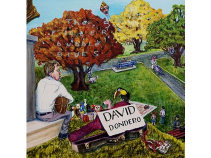 DAVID DONDERO - The Filter Bubble Blues (LP)