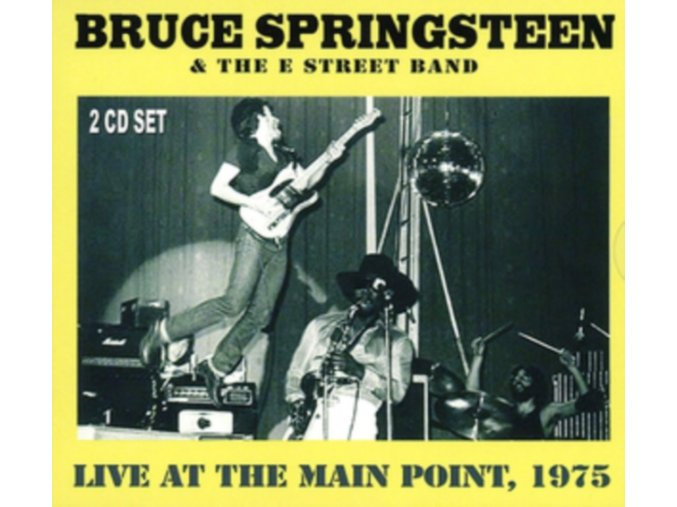 BRUCE SPRINGSTEEN - Live At The Main Point. 1975 Fm Broadcast (LP)