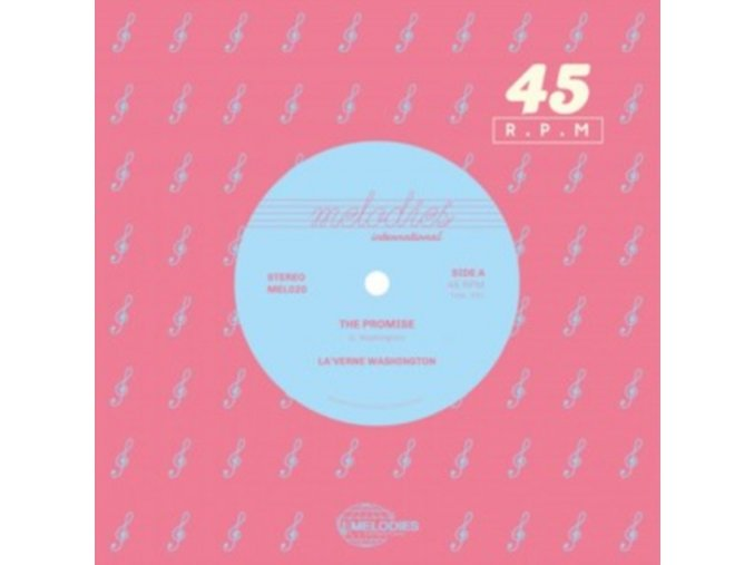 """LAVERNE WASHINGTON - The Promise / I Found What Ive Been Searching For (7"""" Vinyl)"""