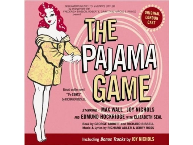 ORIGINAL CAST RECORDING - The Pajama Game (CD)