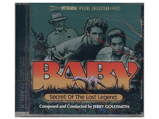 Africká legenda (soundtrack - CD) Baby: Secret of the Lost Legend