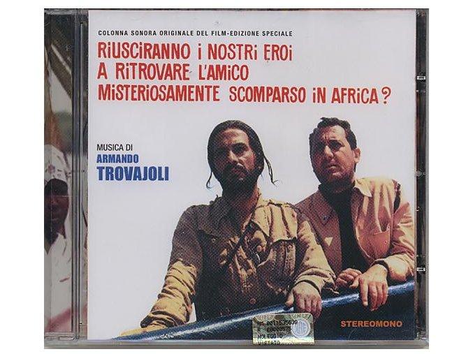 Africké dobrodružství (soundtrack - CD) Riusciranno I Nri Eroi A Ritrovare L Amico Misteriosamente Scomparso In Africa?