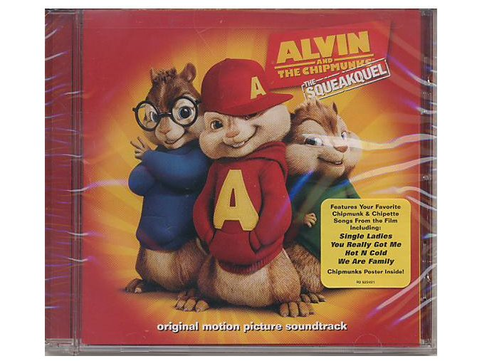 Alvin a Chipmunkové 2 (soundtrack - CD) Alvin and the Chipmunks: The Squeakquel