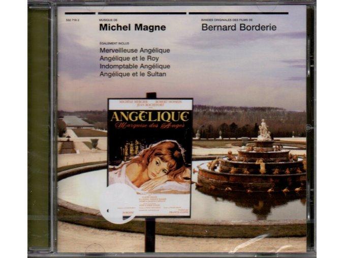 angelique soundtrack cd michel magne