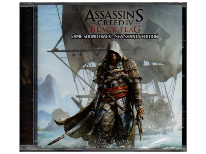 Assassins Creed IV Black Flag (soundtrack - CD)