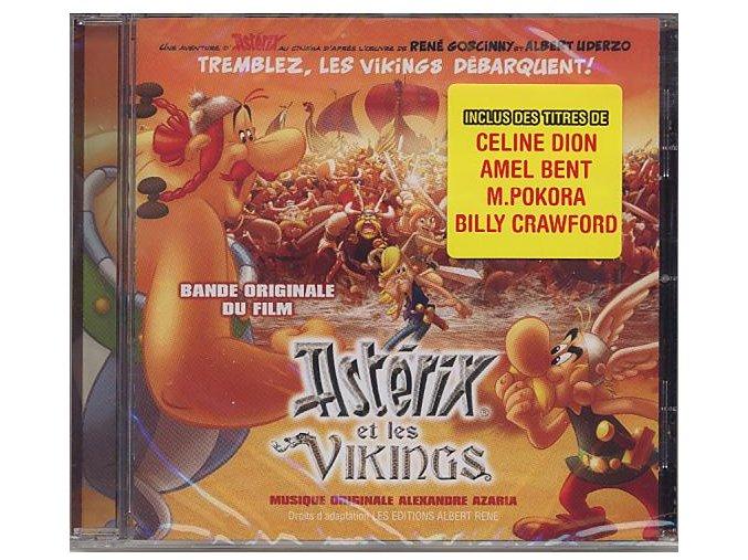 Asterix a Vikingové (soundtrack - CD) Astérix et les Vikings - Asterix and the Vikings