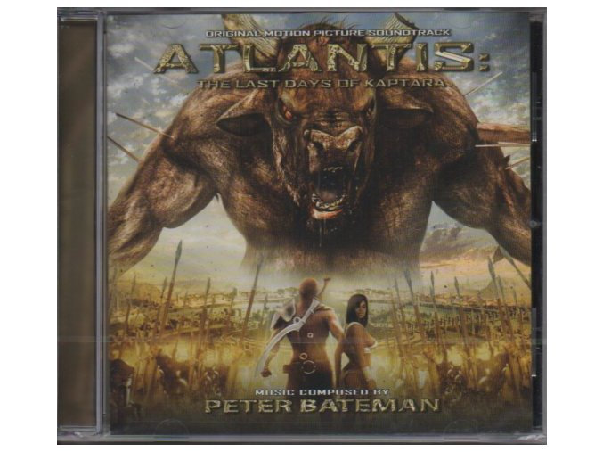 Atlantis: The Last Days of Kaptara (soundtrack - CD)