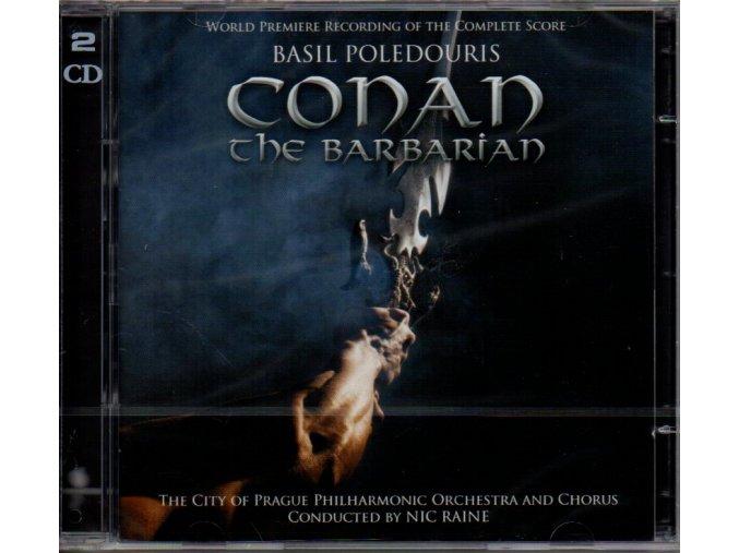 conan the barbarian 2 cd basil poledouris