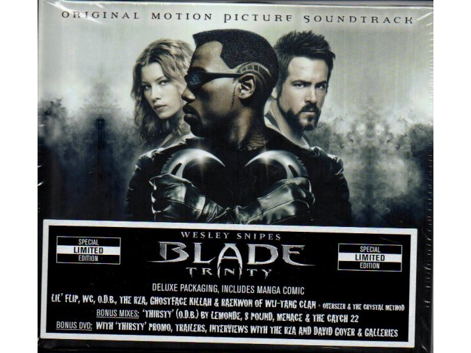 blade trinity soundtrack cd dvd