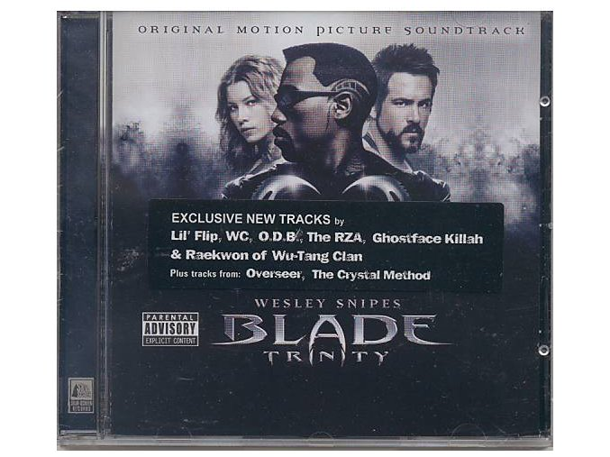 Blade: Trinity (soundtrack - CD)