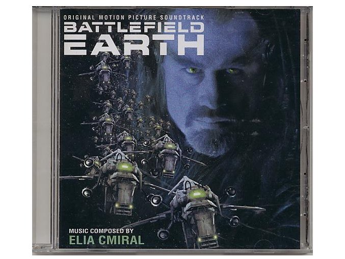 Bojiště země (soundtrack - CD) Battlefield Earth