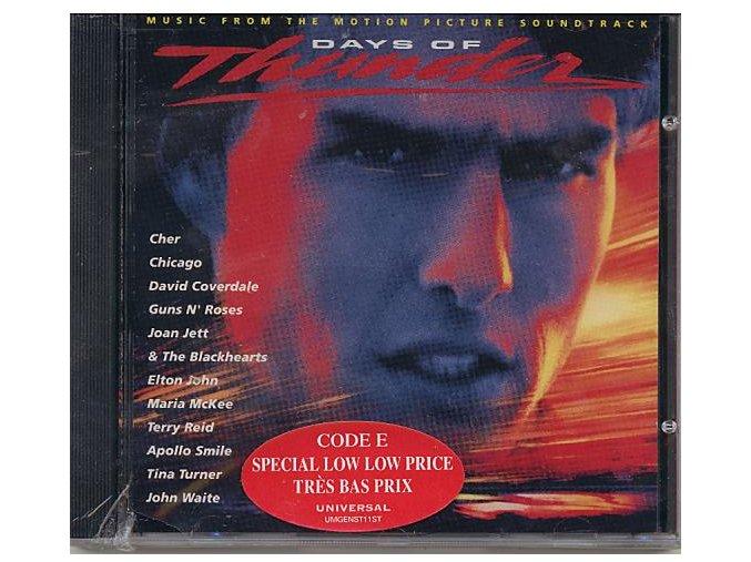 Bouřlivé dny / Dny hromu (soundtrack - CD) Days of Thunder