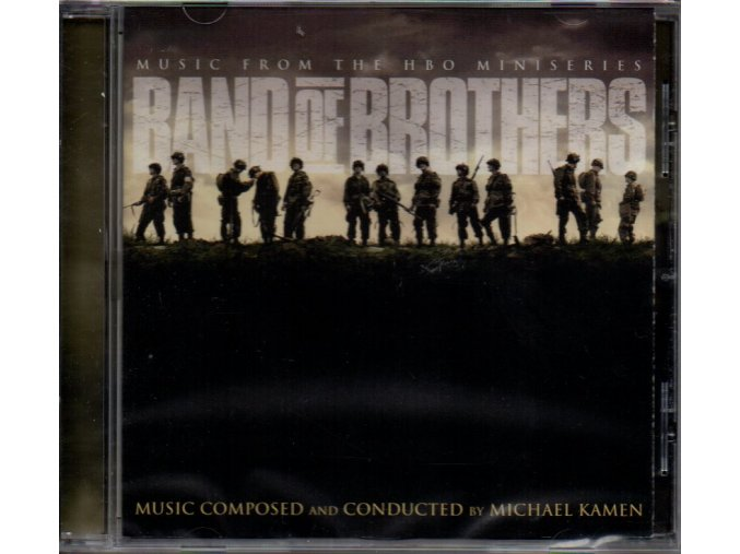 band of brothers soundtrack cd michael kamen